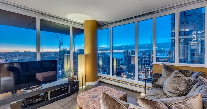 2607 - 1325 Rolston Street, Downtown VW, Vancouver West
